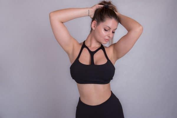 Black Swan Sportswear black bra