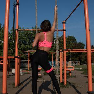 NEONPINK CRUSH legging